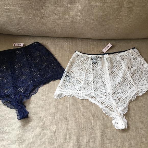 Victoria's Secret Other - Bundle Victoria's Secret High Waist Fishnet Panty